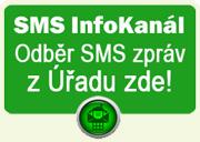 Registrace k odběru SMS